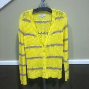 Loft loose weave cardigan